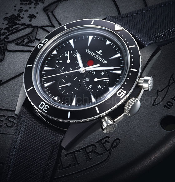 www.watchtime.com | blog  | Watch Insiders Top 10 Chronographs of 2013 | Jaeger LeCoultre Deep Sea Chronograph Cermet1