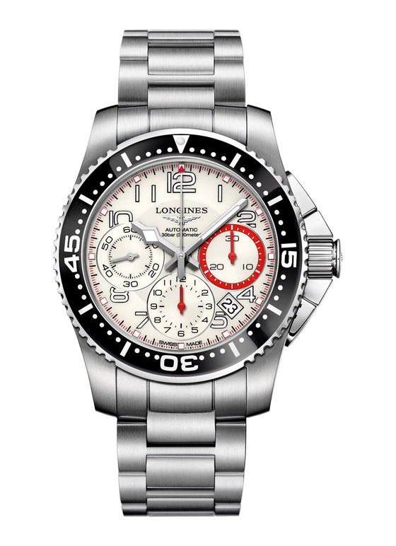 www.watchtime.com   blog    Watch Insiders Top 10 Chronographs of 2013   Longines HydroConquest Chronograph 11