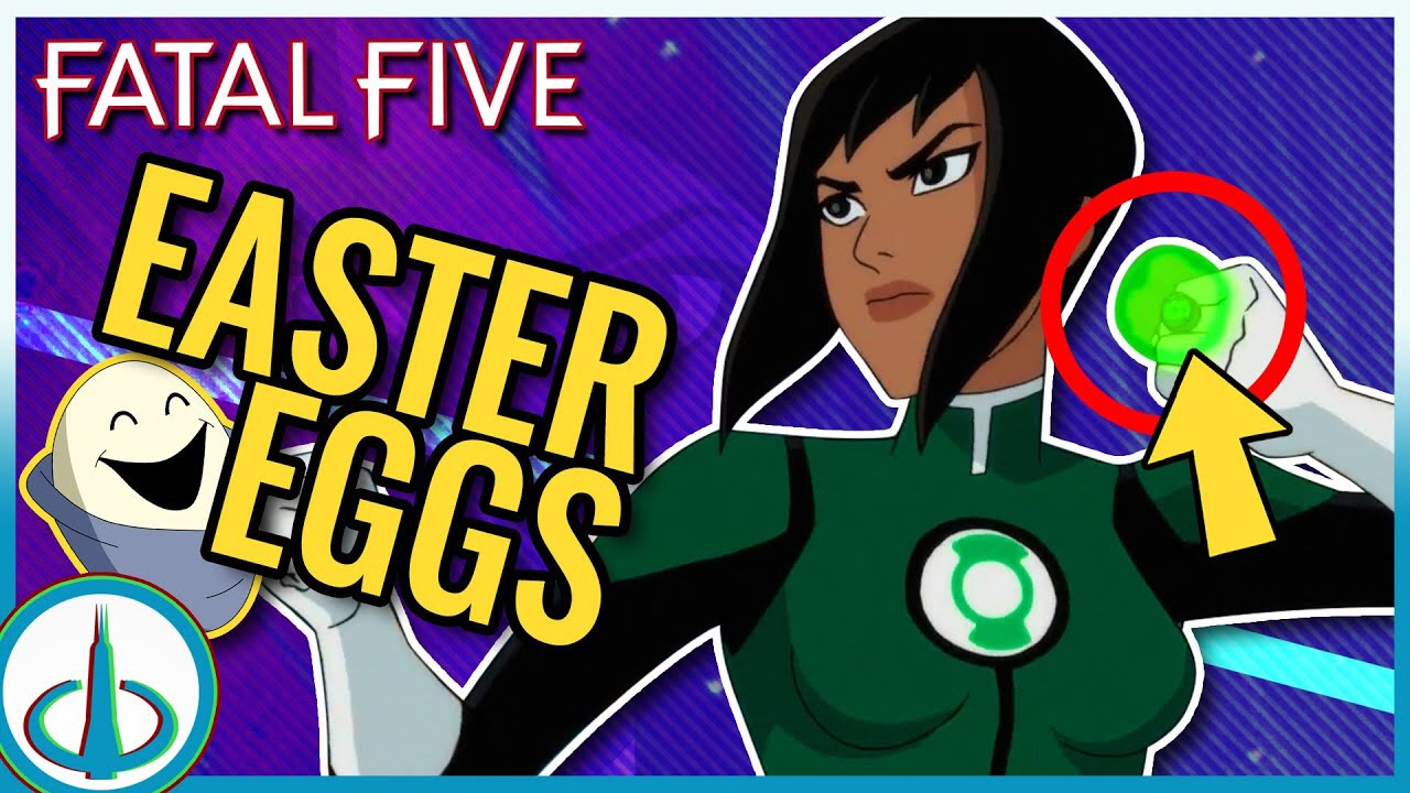 Everything You Missed In Justice League Vs The Fatal Five Watchtower Database Watchtower Database
