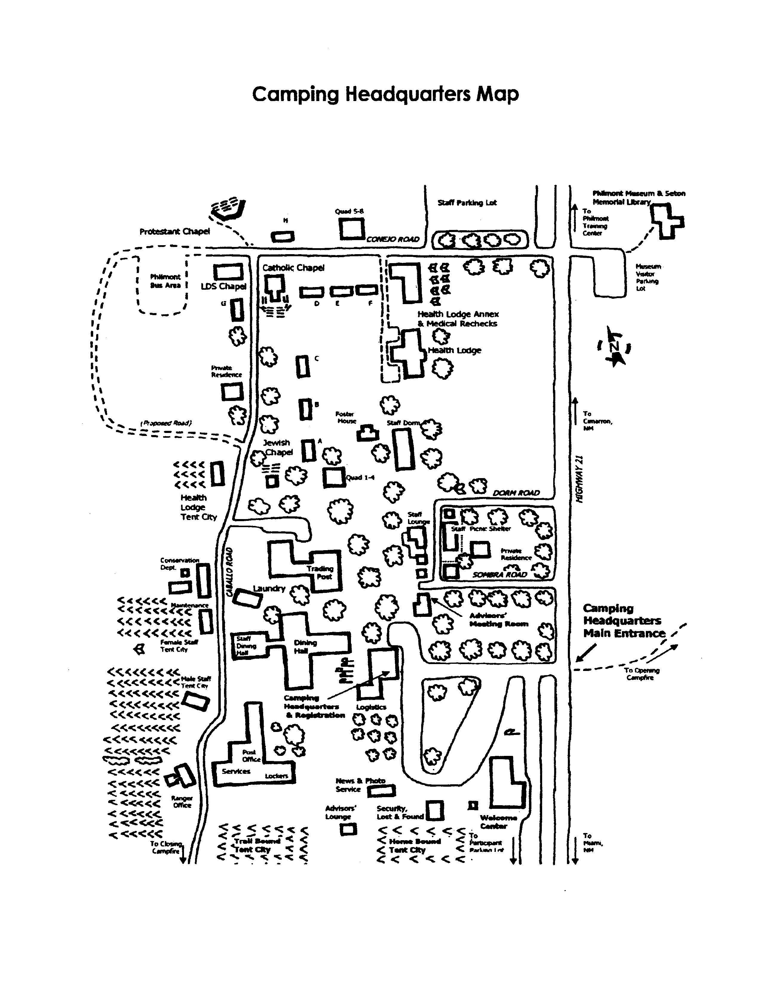 Base Camp Map
