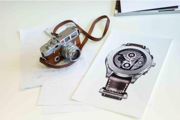 Valbray AL1 Chonograph Leica dessin