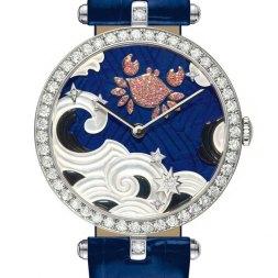 Van Cleef & Arpels montre Lady Arpels Zodiac signe Cancer
