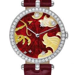 Van Cleef & Arpels montre Lady Arpels Zodiac signe Sagittaire