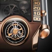 Christophe Claret-X-TREM 1 Chocolate close up