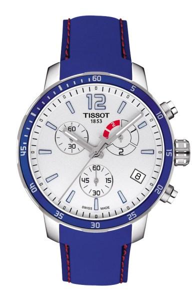 Tissot Quickster Football bleue