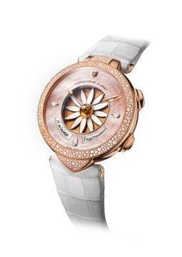 Christophe Claret Margot Or Rose Diamants sertis neige
