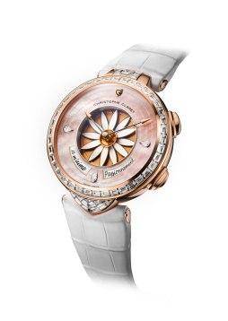 Christophe Claret Margot Or Rose diamant baguette
