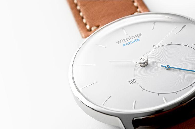 montre connectee couchée : l'Activité par Withings