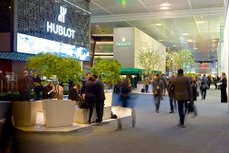 Baselworld Hall 01 stand hublot rolex