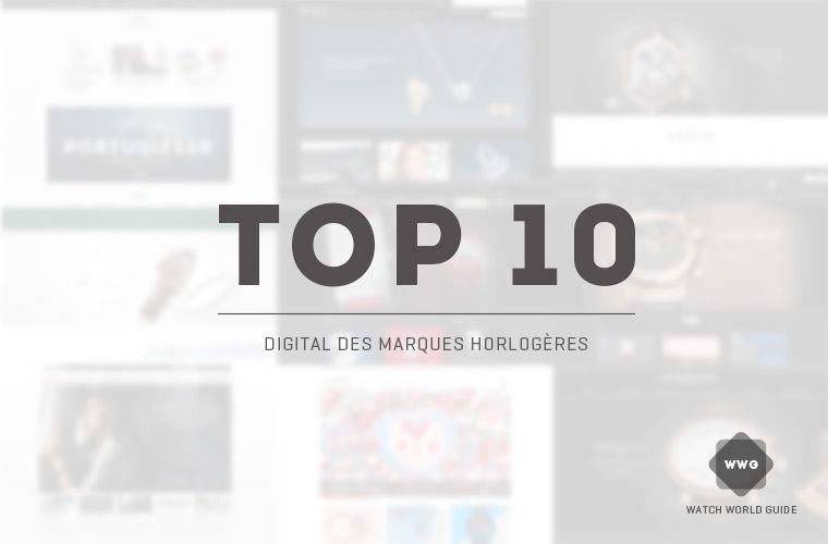 top10-digital-marques-horlogeres selon WWG