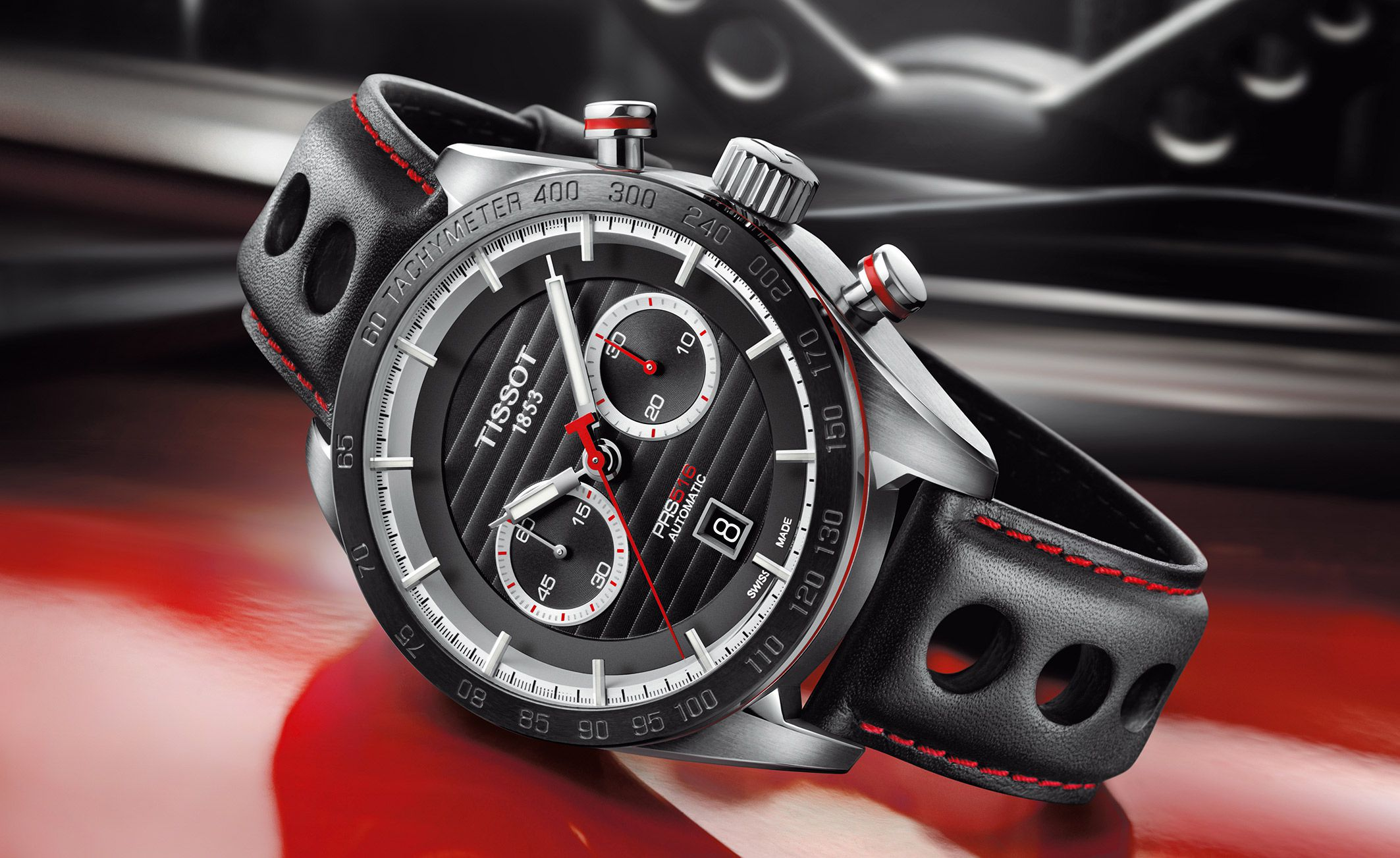 Tissot PRS 516 baselworld 2015 ambiance sport automobile