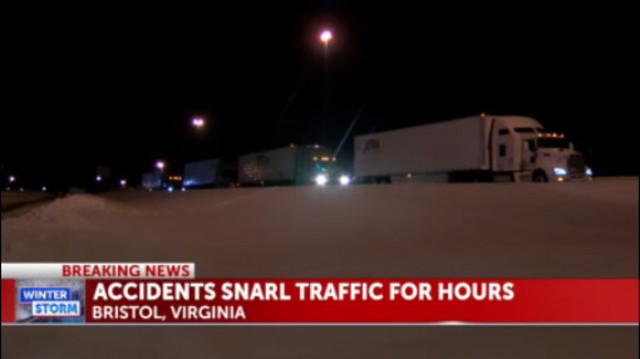 Bristol calls in National Guard to help stranded motorists
