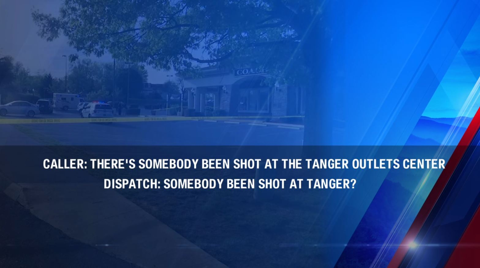 911 calls from deadly outlet mall shooting