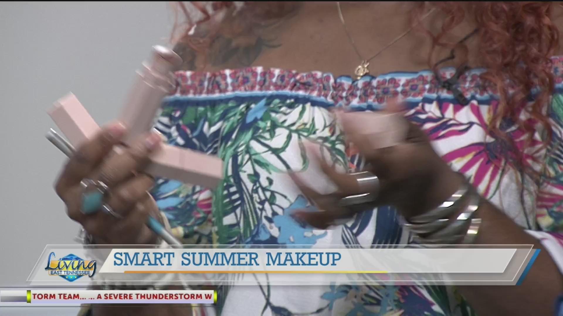 Beauty influencer K.C. Coleman gives us smart, summer makeup tips