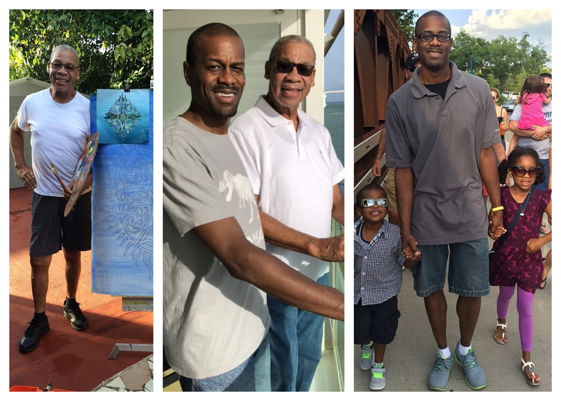 My husband Lucious has all of the best qualities of my Daddy. They both are fun, loving and super engaged dads!