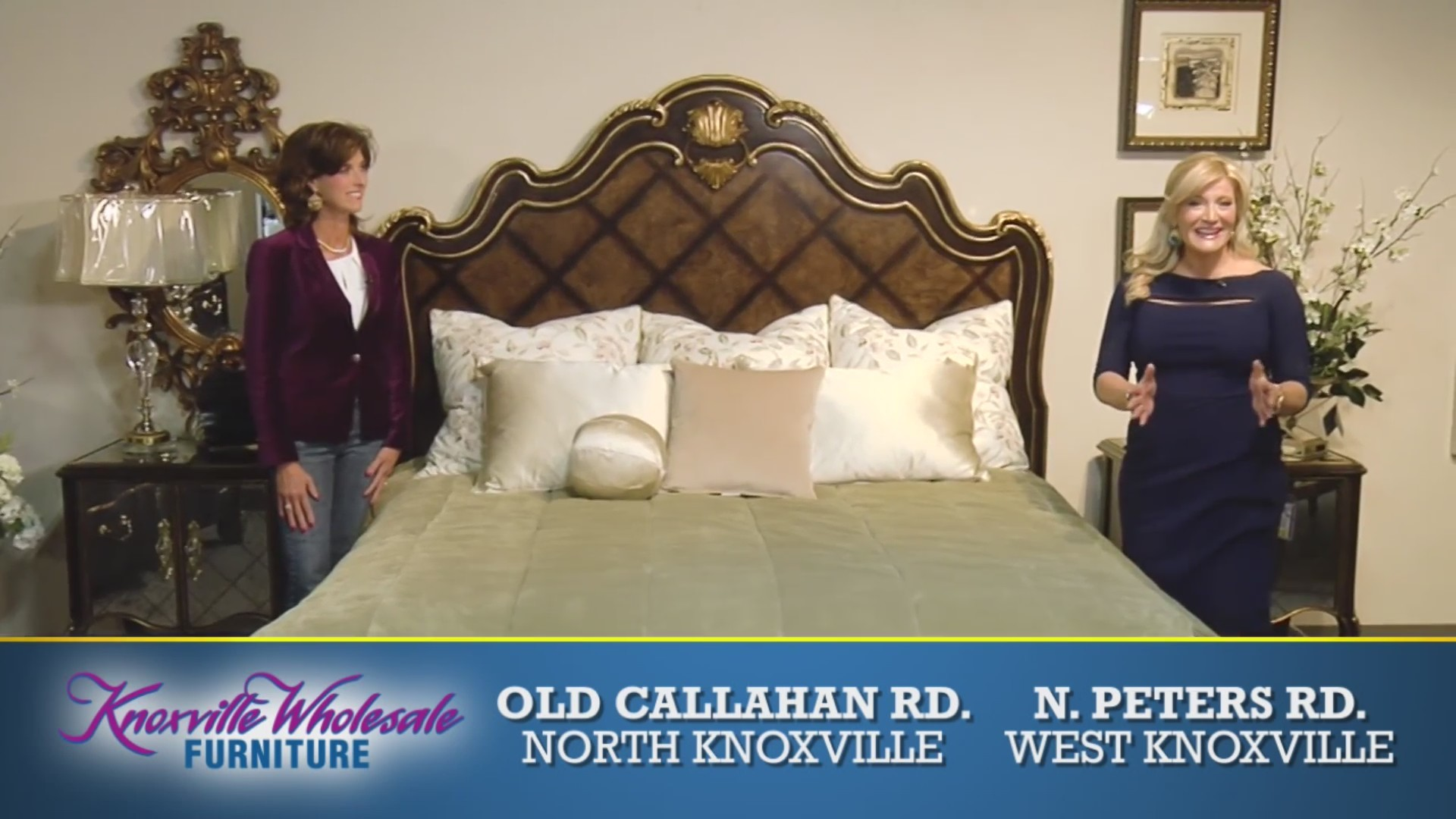 Knoxville Wholesale Furniture – Lovely layers on beds