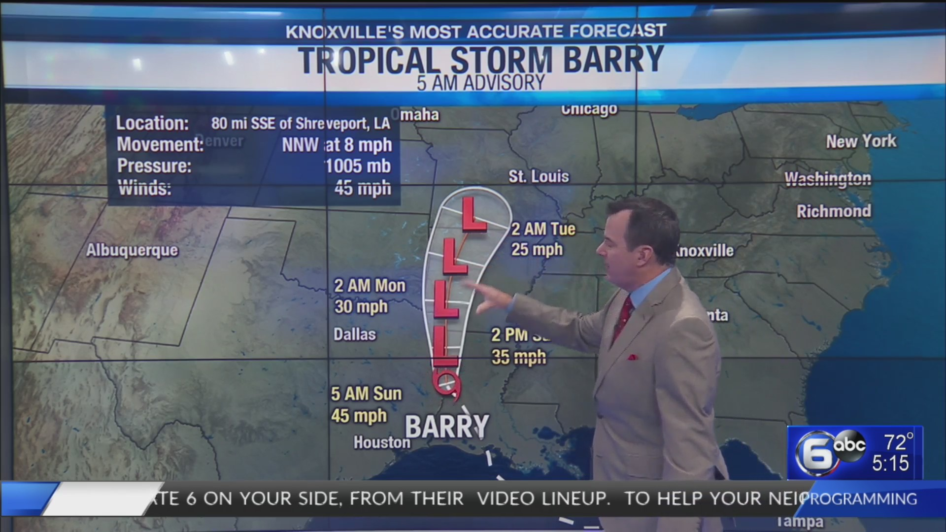 DIRECTV, AT&T U-verse customers: Continue watching WATE newscasts