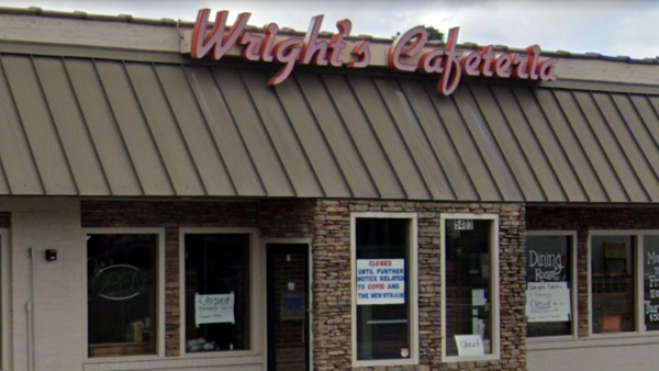 wright's cafeteria closed due to COVID-19