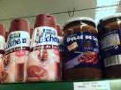 Wateetons in de Madrileense supermarkt