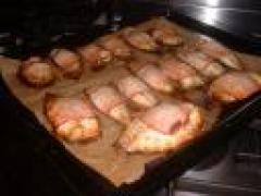 Makreelfilet met bacon en tijm