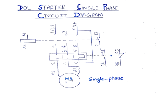 Magnetic Starter Wiring Diagram