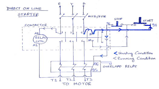 3 Phase Starter Diagram