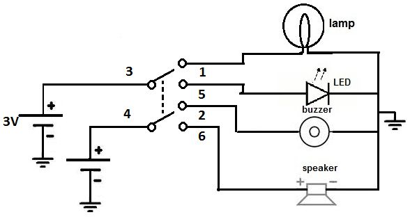 different types of switches with circuits and applications