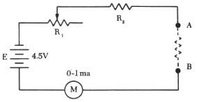 Ohmmeter : Types, Measuring Circuit And Its Working