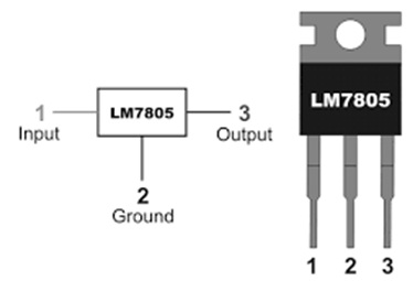 7805 Voltage Regulator : Pin Configuration, Circuit & Its