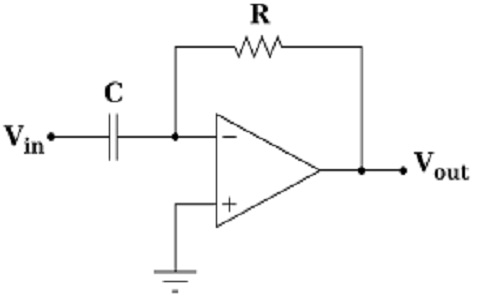 Op Amp Differentiator : Circuit, Frequency Response & Its