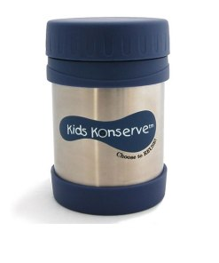 Insulated Food Jar - Kids Konserve 350ml Ocean