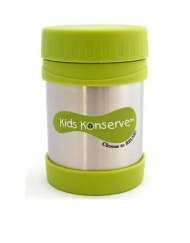 Insulated Food Jar - Kids Konserve 350ml Lime