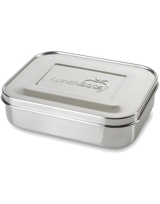 Lunchbots Trio 3-Section Lunchbox