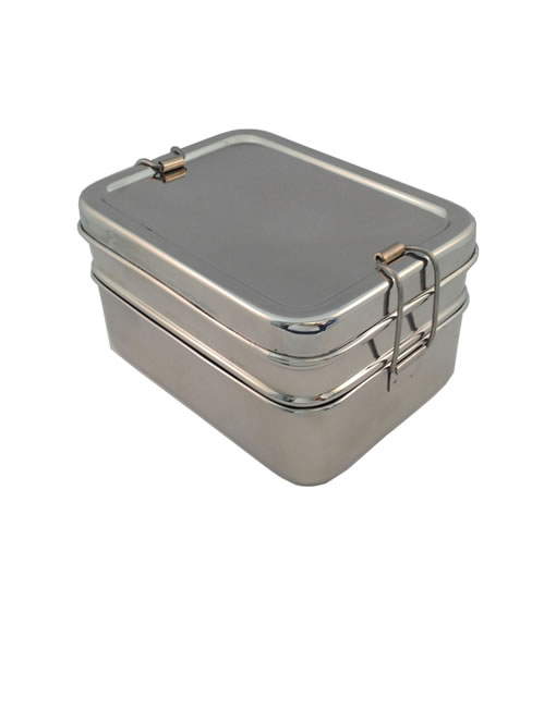 Tucker-a-Stacker 3 Piece Stainless Steel Lunchbox