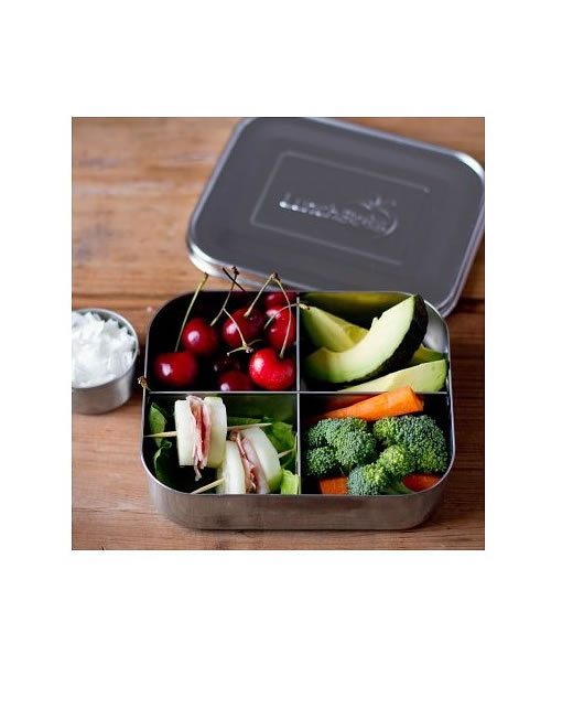 Four-compartment Lunchbox
