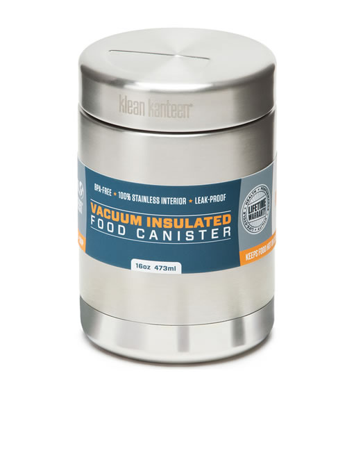 Klean Kanteen Stainless Food Canister - 473ml Insulated