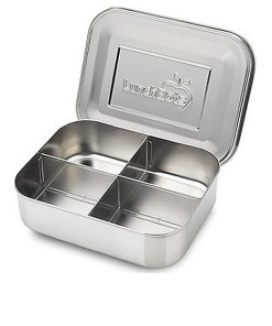 Lunchbots 4-Section Stainless Steel Lunch Box