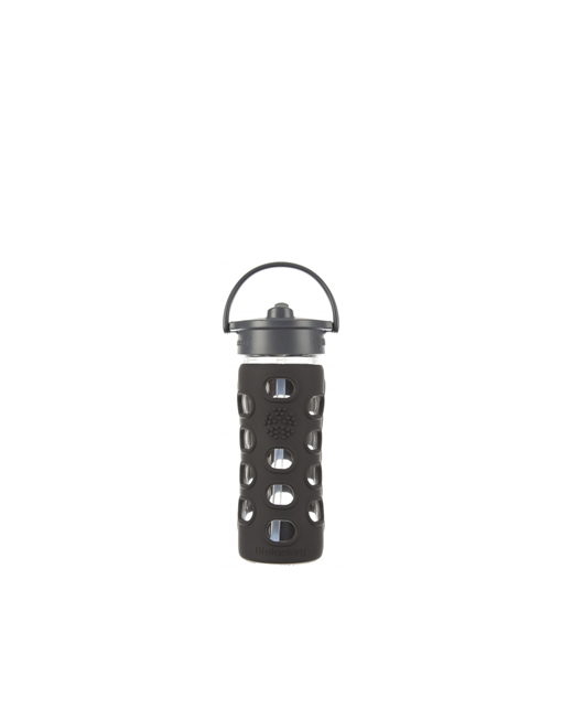Lifefactory Glass Bottle Black Top 355ml