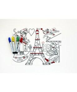 Modern Twist, Paris Daydream Placemat