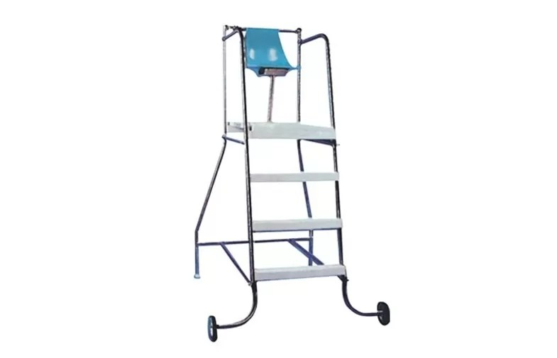 steel chair accessories wobble canada swimming pool stainless lifesaving device large image lifeguard