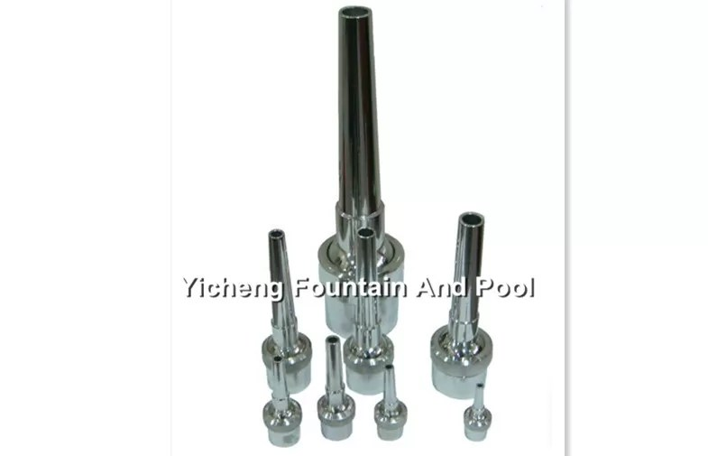 China Stainless Steel Water Fountain Spray Heads