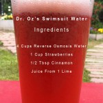 Turbocharge your weight-loss with Dr. Oz's Swimsuit Water using Reverse Osmosis Water