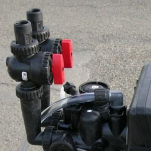 Coudes flipper adaptateur vertical pour bypass