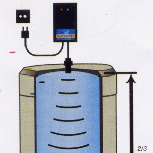 Détecteur de niveau de sel sans fil