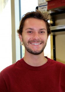 Kyle Dost is an undergraduate research technician in the hydrology lab; he plans to graduate this spring with a degree in environmental planning.