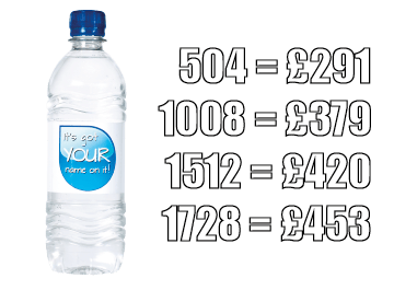 prices 500ml Plastic Promotional Bottled Water