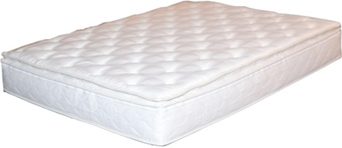 legacy ivory pillowtop hardside waterbed mattress cover
