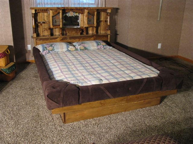 Flotation Beds and Mattresses  Waterbeds for the Modern