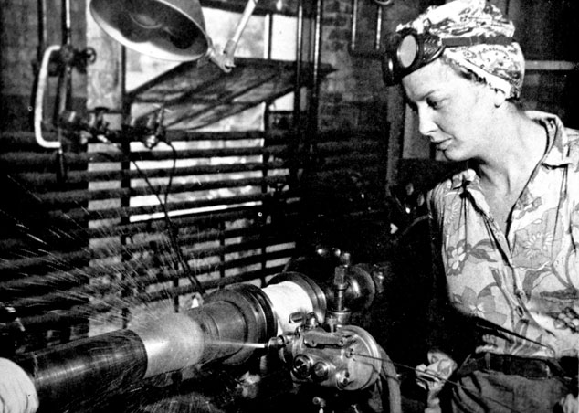 During WWII Jo Ann Foley worked in the Welding Department at Scovill - From Waterbury Observer
