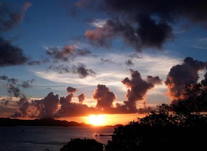 Stunning Sunsets and Views of St. Thomas